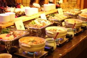 【年末年始】洲本温泉で初日の出・初詣を楽しむ《1泊2食》●年末年始の限定ビュッフェ