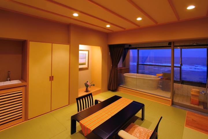 【露天風呂付客室】~星空の歌フロア(5階)~『楾』(和室)