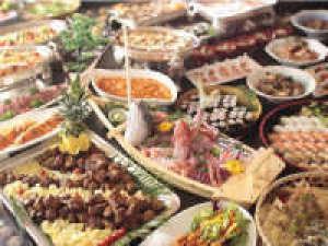 大満足!豪華 和・洋・中グルメバイキング2食付き 大江戸温泉物語のスタンダードプラン