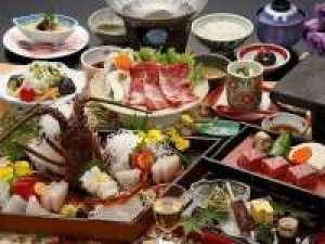【当館グレードNO1!!】三重の美食の贅沢膳♪♪松阪牛(溶岩焼&しゃぶ②)と伊勢海老お造り 《彩華の膳》