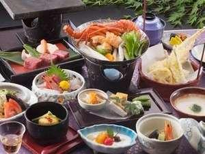【当館人気NO1プラン】 三重の高級食材と地元食材のコラボ!! ≪美味し三重の膳≫