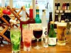 ビールに日本酒にサワー、梅酒もワインもハイボールも☆ 70分飲み放題付プラン