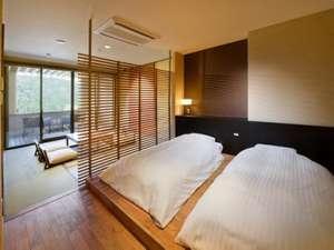 【和洋室】天然温泉の露天風呂付き無料Wi-Fi完備