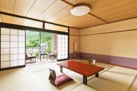 【伝統的な純和風和室】広々12.5帖禁煙/無料Wi-Fi完備