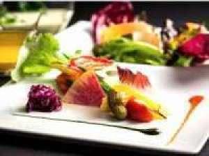 【スタンダードフレンチ】ご夕食 AKAGANE RESORT~身心を潤す京野菜を使ったフレンチを堪能 (夕朝食付き)