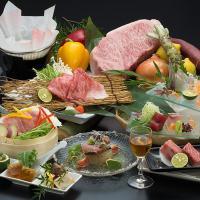 【2大ブランド牛食べ比べ☆肉食系のアナタに!】「すだち牛」と「阿波牛」の牛三昧会席☆