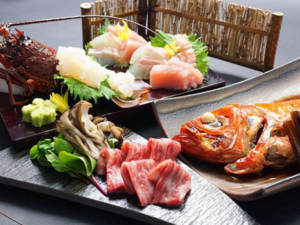【お食事グレードアップ】当館最上級のお料理「無幻懐石」を味わう極上プラン!
