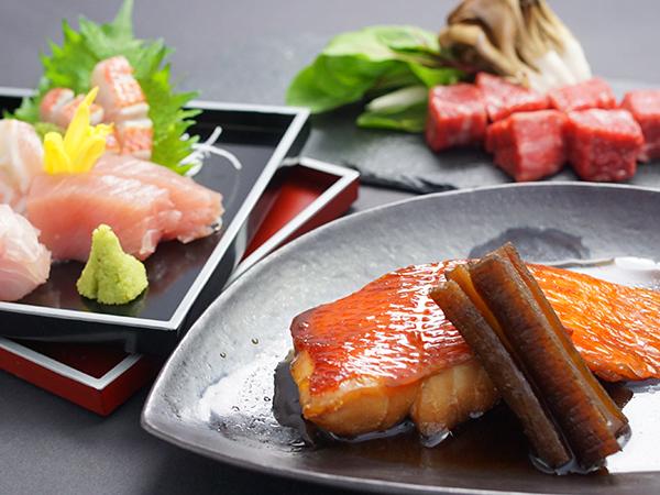 【伊豆名産プラン】伊豆といえばコレ!ホクホクの金目鯛の煮付けを味わえる「辺海懐石」を堪能♪