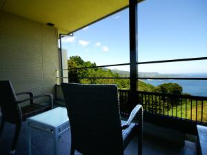 客室露天風呂付き一般客室(角部屋52.2平米)
