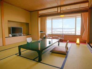 富士山ビューと絶景夜景NO1◆和室12~15畳!広縁+踏込■禁煙■