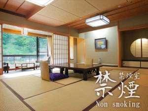 【対峰閣・禁煙☆特別和室12.5畳】黒部峡谷を望む和室