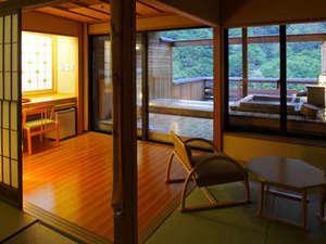 【露天風呂付客室】風情を愉しむ趣ある和室13.5畳