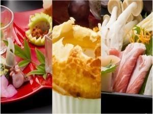 迷ったらコレ!★美覚三選★~<萩ブランド豚!むつみ豚><甘鯛>など3つの旬食材を使った和創作会席~