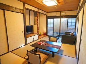 【大人2名様限定】露天風呂付き和室/1階(7.5畳+5畳)