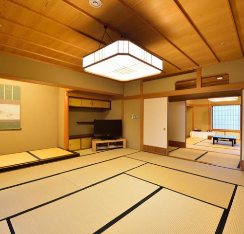 雪の間 【和室13畳+ベッドルーム】