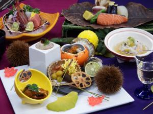 【10月~11月期間限定】秋の味覚!薫り高い松茸に秋鱧&アワビも味わえる♪豪華3大食材食べ比べプラン
