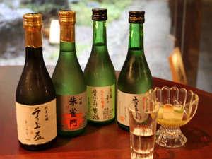 利き酒ついでに、1本サービス。50歳以上の方がいればラッキー。 「日本清酒発祥の地」 1泊2食付