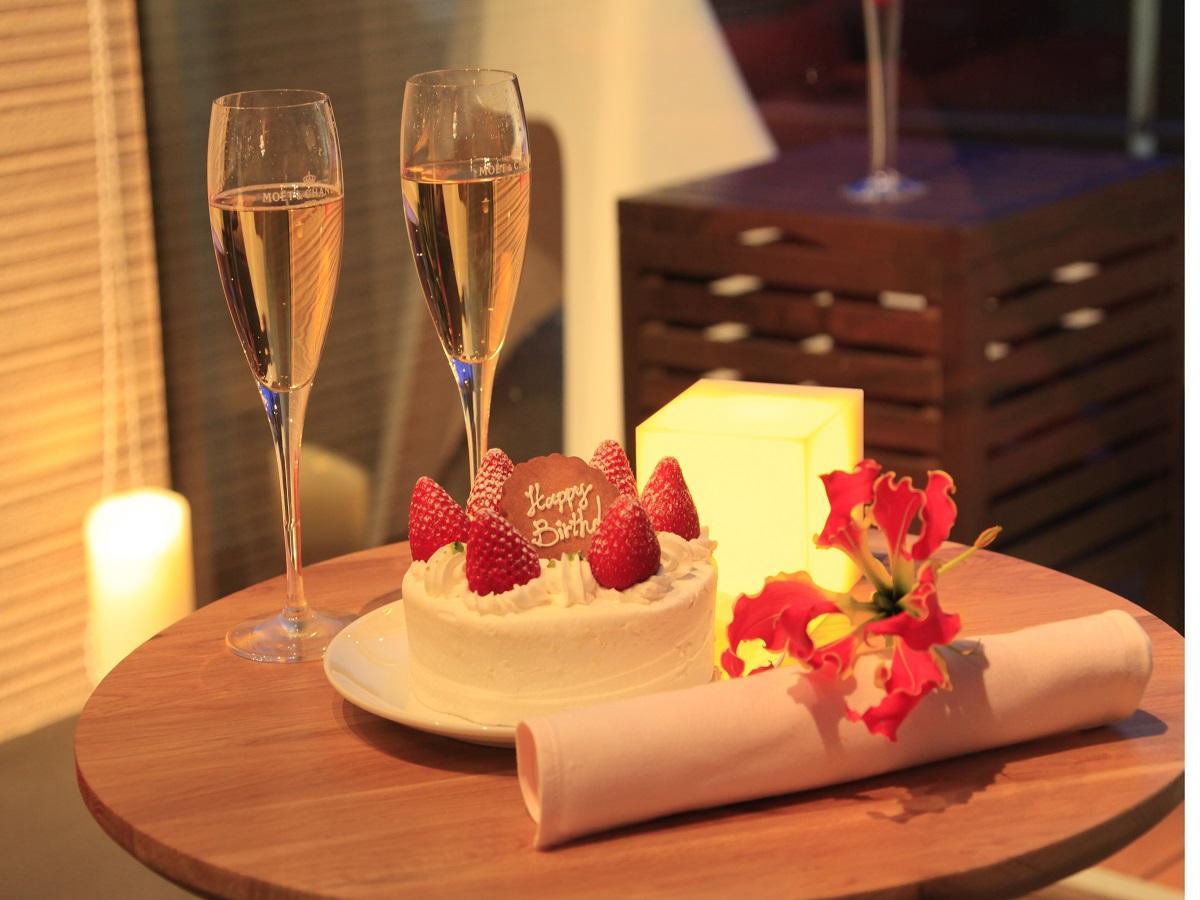 【記念日】ケーキ×スパークリングワインの2大特典付で大切な日をお祝い<スタンダード会席★風>