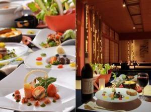 季節のお料理を愉しむ1泊2食 コンセプトルーム[和nagomi]&和洋懐石コースディナー