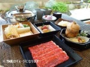 <料理長厳選>黒毛和牛のしゃぶしゃぶと山海の幸で贅沢なディナーコース