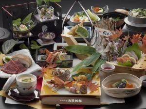 【ご当地食材を満喫☆】豊後牛&関アジ姿造りでお部屋食♪Wグルメプラン!