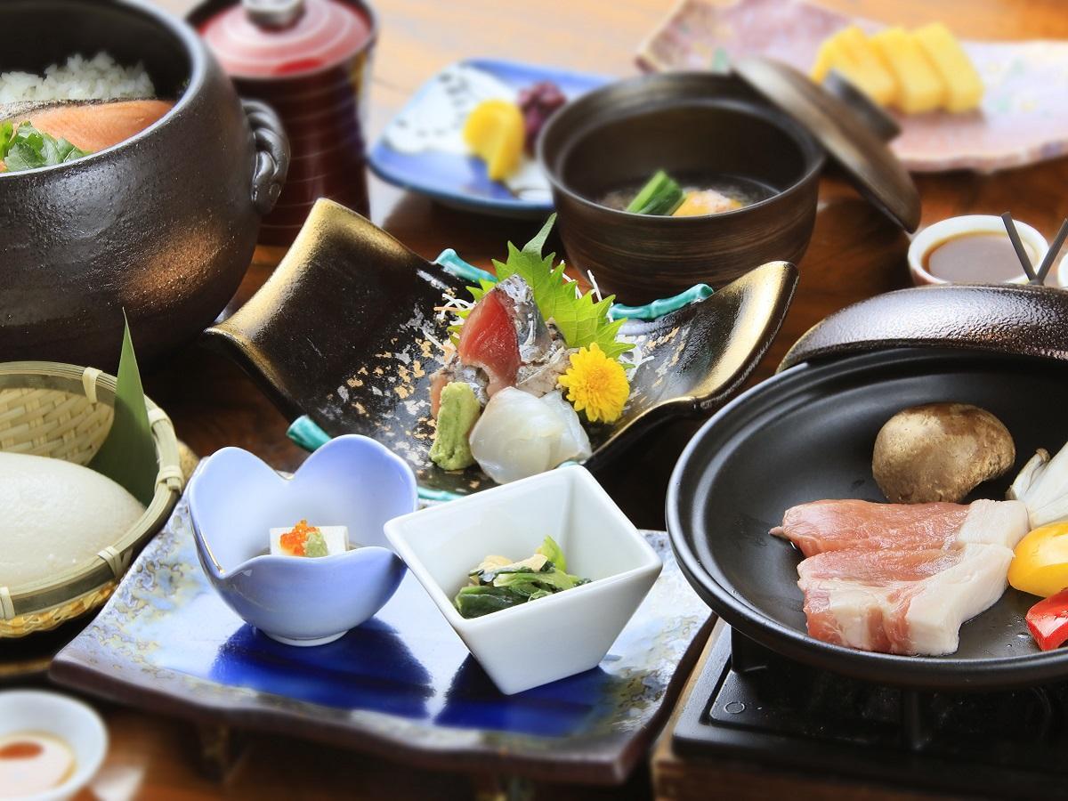 【季節御膳▼灯~Tomoshibi~】お酒がメインの方・たくさんは食べられない方におすすめ♪/1泊2食付