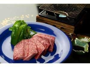 桂荘旬菜会席コースを堪能 信州プレミアム牛肉で焼肉100g付 信州味覚旅プラン