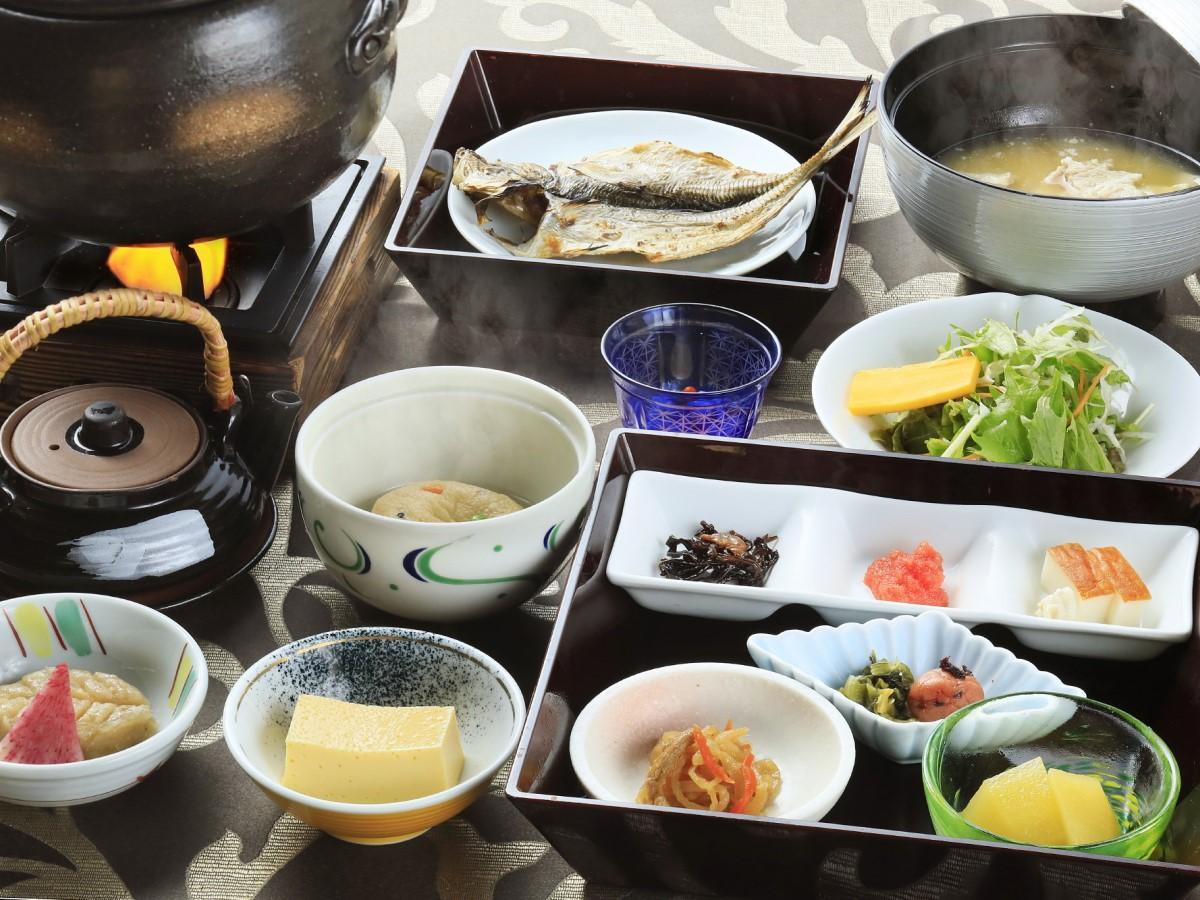 【朝食付き】静岡県産こだわり食材を使用!身体に沁みこむ朝食付きプラン