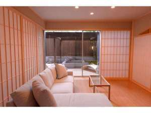 「仗」和室10畳+洋室+足湯付(90平米)