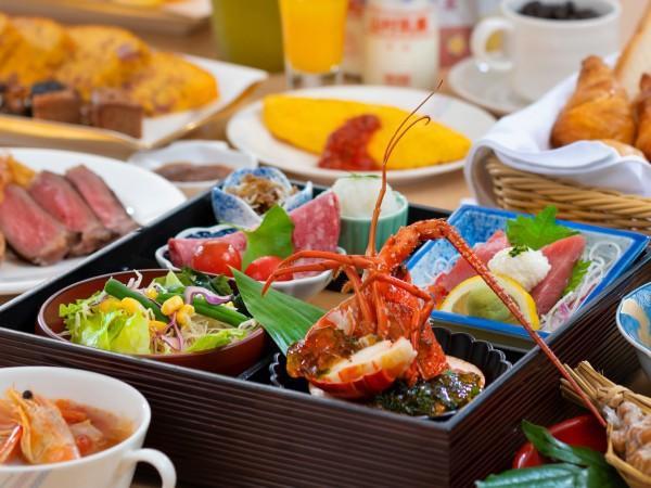 【ランクアッププラン】◆フレンチ19:30~◆海の幸も山の幸も楽しむフレンチを夕食に!<フレンチ>