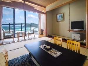 【和室】日本海を望むオーシャンビュー