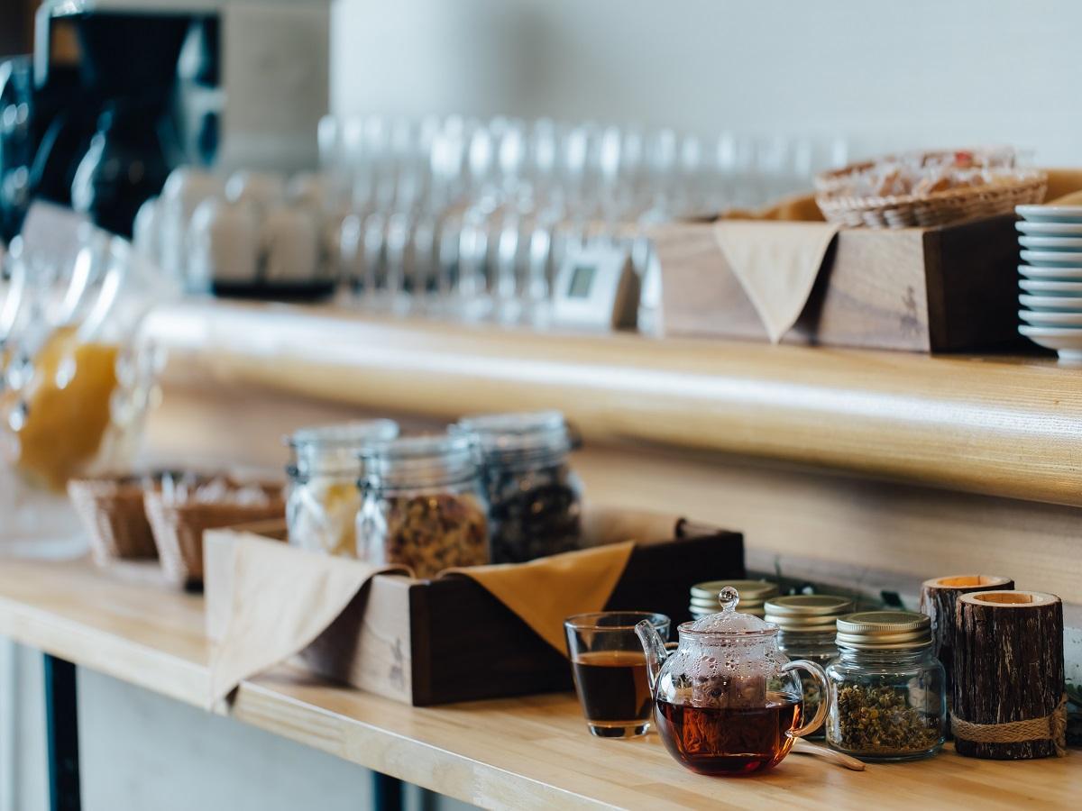 【朝食付き】地元食材をふんだんに使った朝食で1日を元気にスター ト!