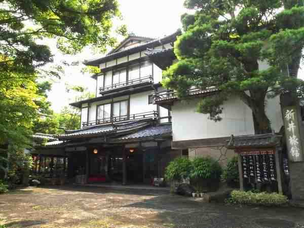 伊豆修善寺温泉 国の登録文化財の宿 新井旅館