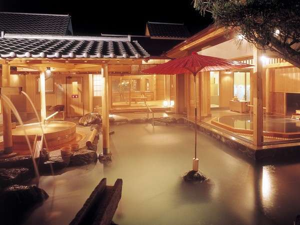 写真:天然温泉風待ちの湯 福寿荘