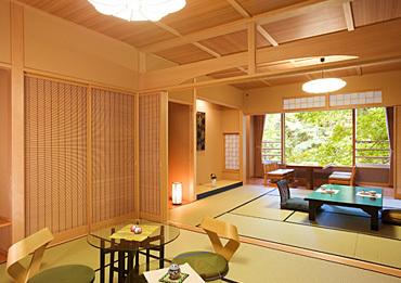 温泉と露天風呂付き客室のある宿 ホテル 美やま