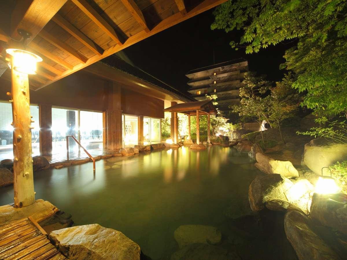 写真:3本の自家源泉をもつ湯宿 三朝館