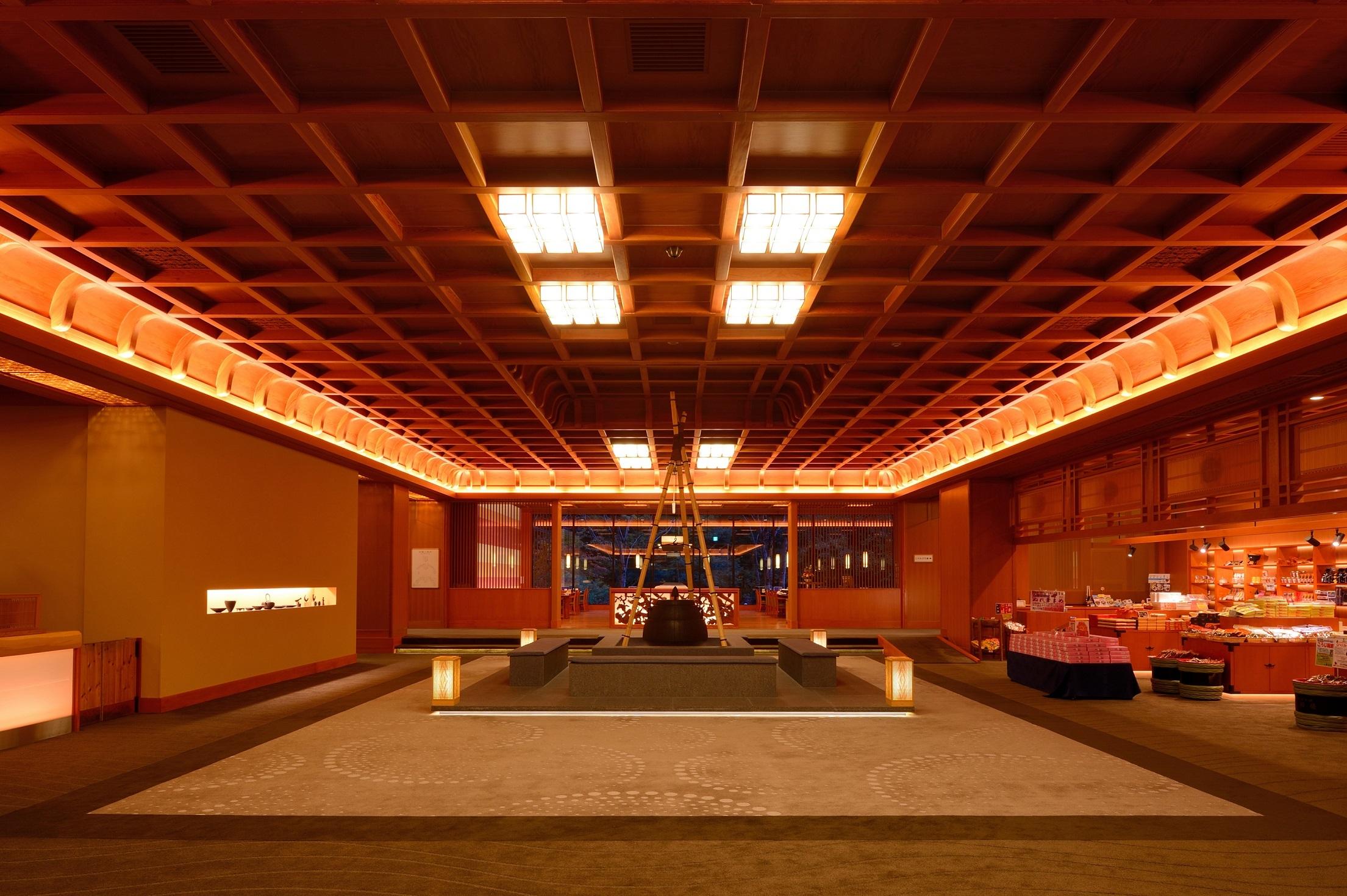 写真:宮大工建築の湯宿 山の神温泉優香苑(ゆうかえん)
