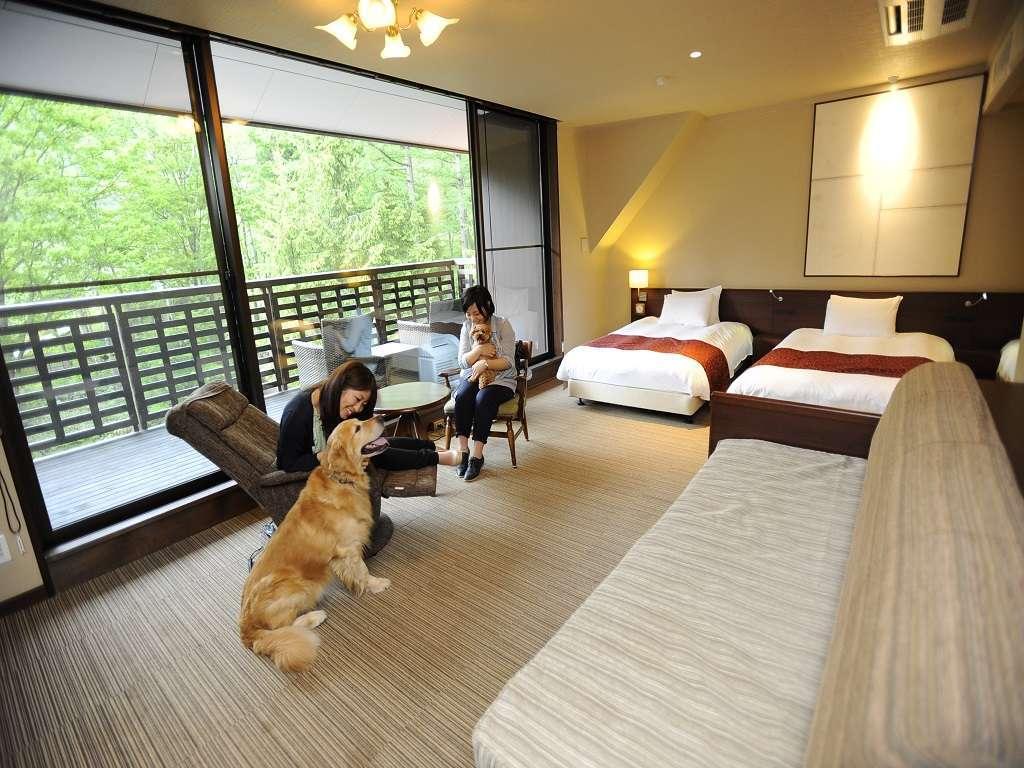 写真:高山わんわんパラダイスホテル
