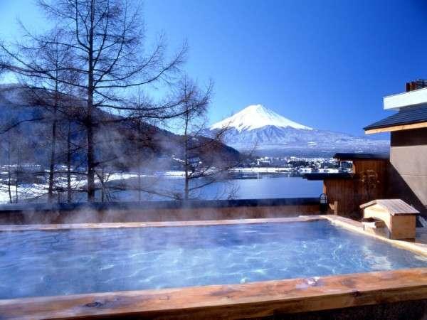 写真:湖楽おんやど 富士吟景