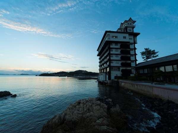 写真:夕景の宿 海のゆりかご 萩小町