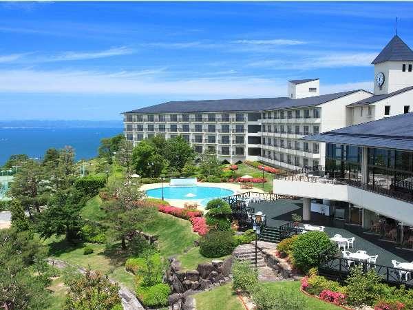 写真:リゾートホテル オリビアン小豆島