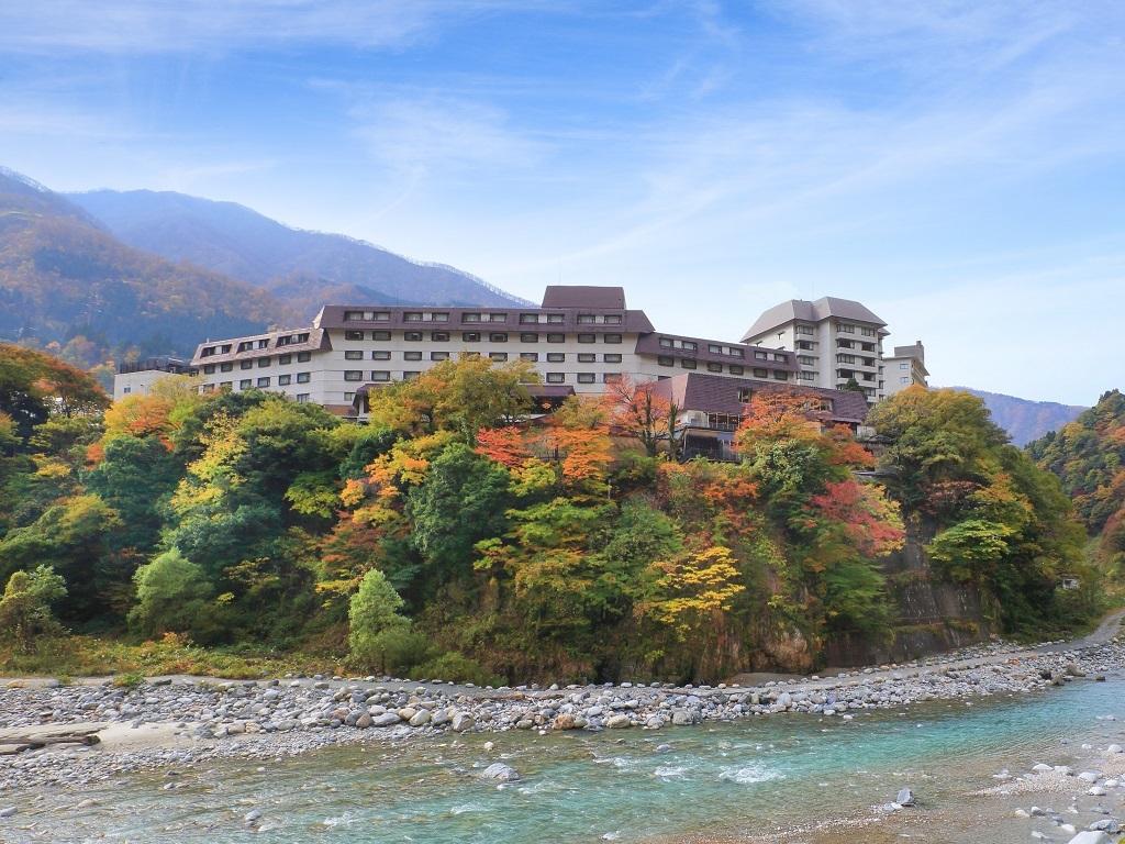 黒部・宇奈月温泉 やまのは(旧 宇奈月杉乃井ホテル)